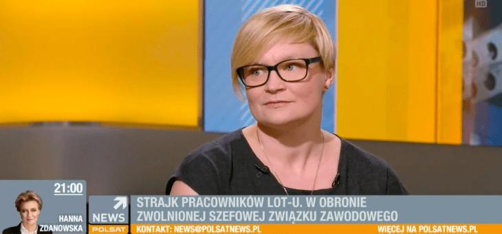 Polsat News – Prawo doodszkodowania zaodwołany lub opóźniony lot.