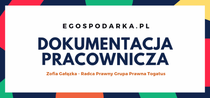 egospodarka.pl – Dokumentacja Pracownicza