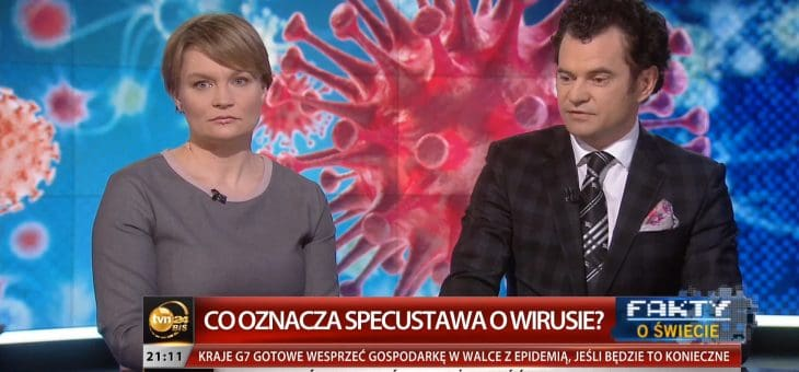 TVN24 Bis – Koronawirus, specustawa zarządzania podczas kwarantanny